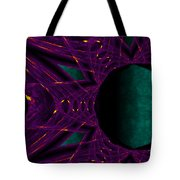 Fire Star - Purple Tote Bag