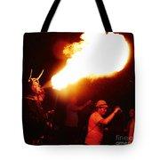 Fire Stroke Tote Bag