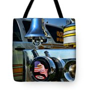 Fire Truck Bell Tote Bag