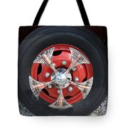 Fire Truck Spinners Tote Bag