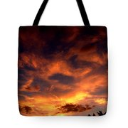 Fireclouds Tote Bag