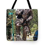 Firefighter Tribute Tote Bag