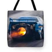 Fireforce Jet Funny Car Tote Bag