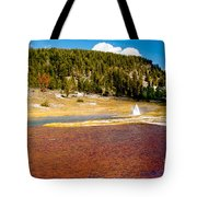 Firehole Lake Tote Bag