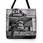 Fireman - Fire Helmets Tote Bag