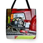Fireman - Helmet Tote Bag