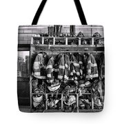 Fireman - Jackets Helmets And Boots Tote Bag