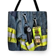 Fireman - The Fireman's Coat Tote Bag