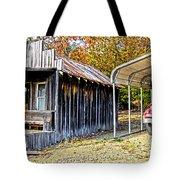 Fireman Cottage Tote Bag by Douglas Barnard