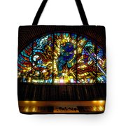 Fireman's Hall Stained Glass Tote Bag