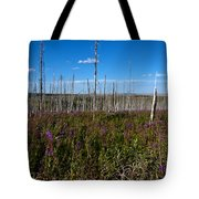 Fireweed  Epilobium Angustifolium Glacier National Park Usa -2 Tote Bag