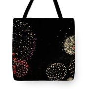 Firework Lifecycle 3 Tote Bag by Meandering Photography
