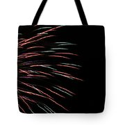 Fireworks Abstract 1 Tote Bag