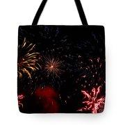 Fireworks At Oshkosh Airventure 2012. 01 Tote Bag