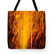 Fireworks Fountain Tote Bag