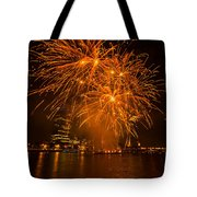 Fireworks London Tote Bag