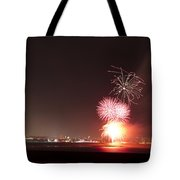 Fireworks Over Aberdeen Tote Bag