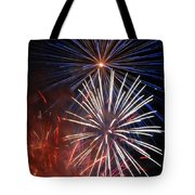Fireworks Rectangle Tote Bag