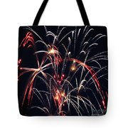 Fireworks Two Tote Bag