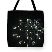 Fireworks With Moon II Fm2p Tote Bag