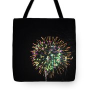 Fireworks With Moon IIi Fm3p Tote Bag