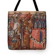 First Crusade Germ Warfare Siege Tote Bag