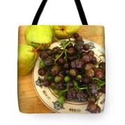 First Harvest Tote Bag by Deb Martin-Webster