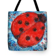 First Lady Bug By Schulmanart Tote Bag