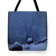 First Light First Snow II Tote Bag