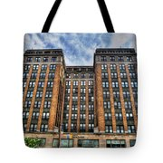 First Niagara Building With Takis Tote Bag