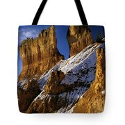 First Snow At Bryce Canyon Tote Bag