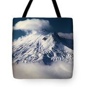 First Snow At Mt St Helens Tote Bag