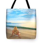 First Sunshine Tote Bag