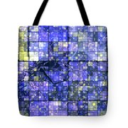 First Time Geometric Lavender  Tote Bag