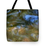 Fish In Rippling Water Tote Bag