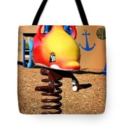 Fish Jumper Tote Bag