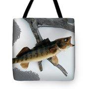 Fish Mount Set 02 Bb Tote Bag