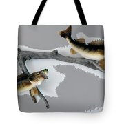 Fish Mount Set 03 C Tote Bag