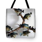 Fish Mount Set 05 A Tote Bag