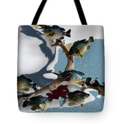 Fish Mount Set 05 B Tote Bag