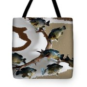 Fish Mount Set 05 C Tote Bag