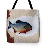 Fish Mount Set 12 C Tote Bag
