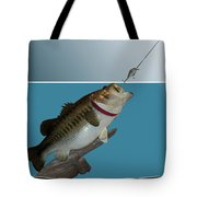 Fish Mount Set 13 D Tote Bag