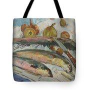 Fish Soup Tote Bag by Juliya Zhukova