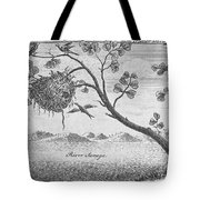 Fisher Bird Tote Bag