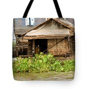 Fisherman Boat House Tote Bag