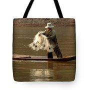 Fisherman Mekong 3 Tote Bag