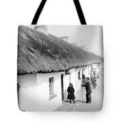 Fishermans Cottages In Claddagh Ireland Tote Bag