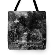 Fishermen, 19th Century Tote Bag by Granger