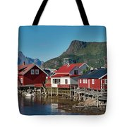 Fishermen's Houses Tote Bag